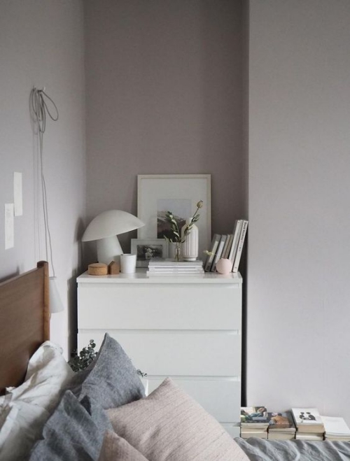 meubles de chambre commode en blanc