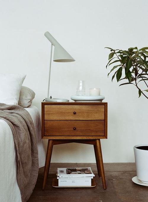 meubles de chambre petite table de chevet