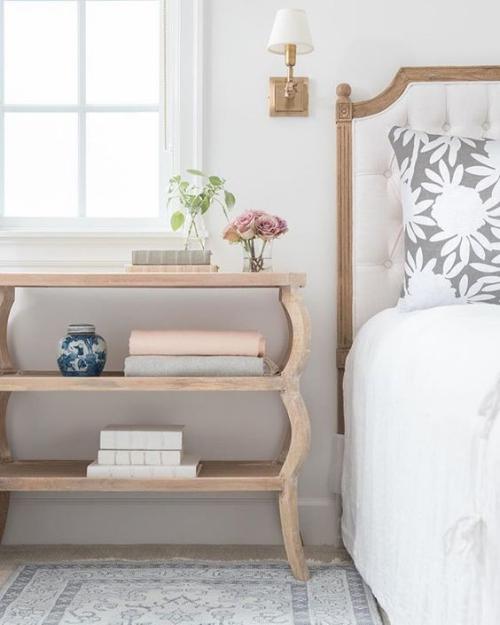 meubles de chambre style vintage