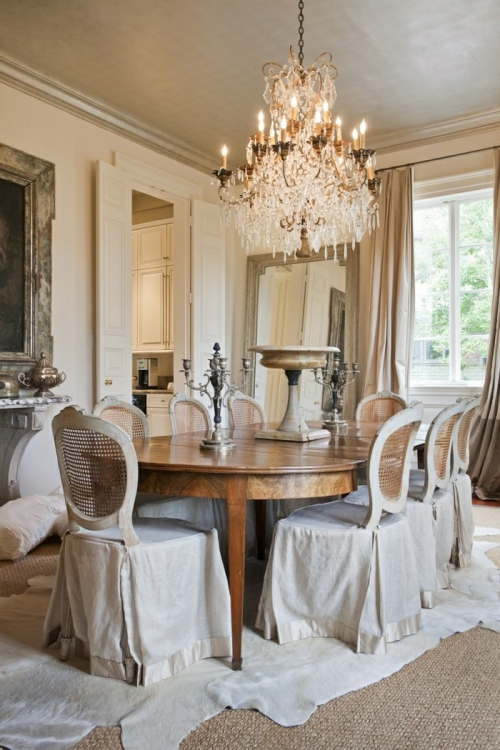 meubles shabby chic ambiance château