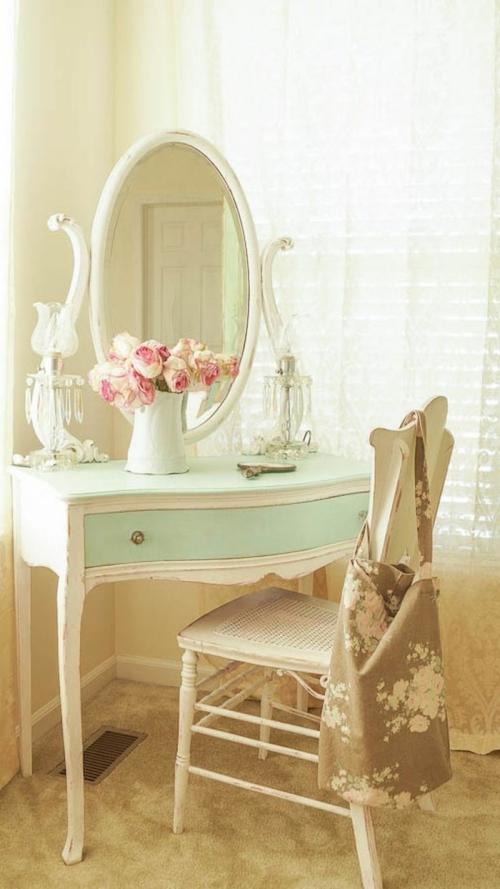 meubles shabby chic petite commode pour femme