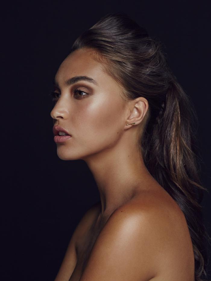 maquillage femme poudre bronzante