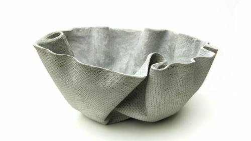 objet déco jardin cache-pot ciment diy