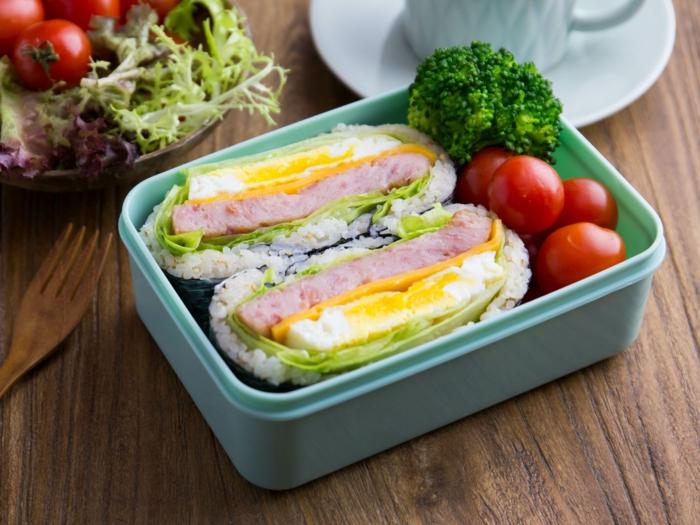 onigirazu déjeuner à la japonaise