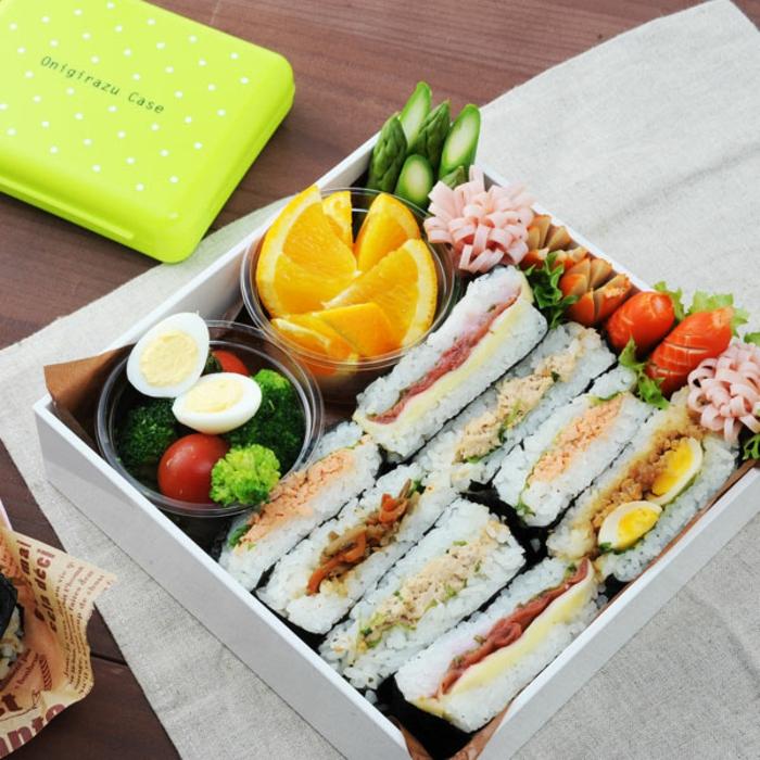 onigirazu repas moderne