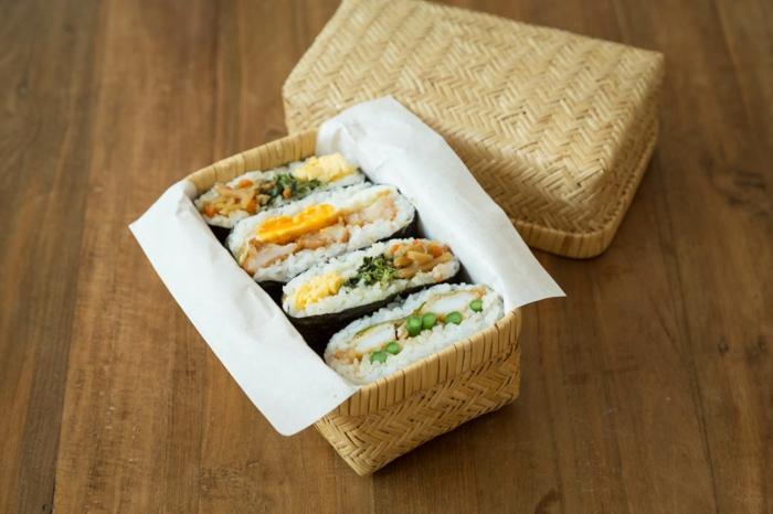onigirazu sandwich japonais