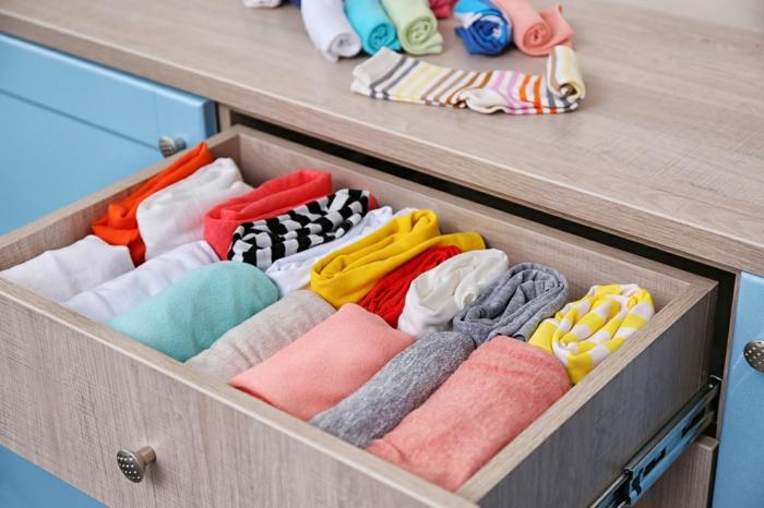 organiser ses vêtements rangement konmari