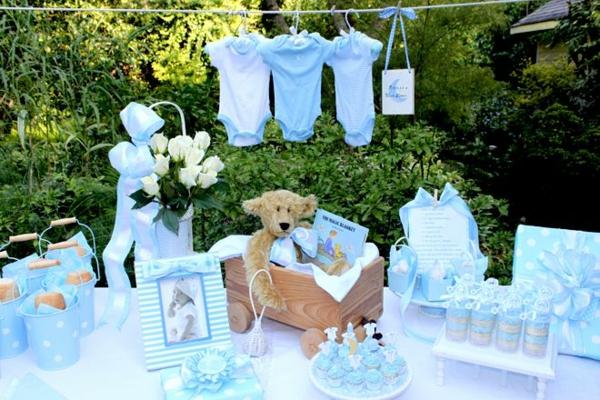 party de jardin décoration baby shower