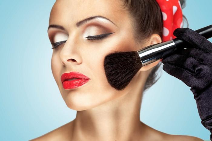 poudre bronzante idée maquillage