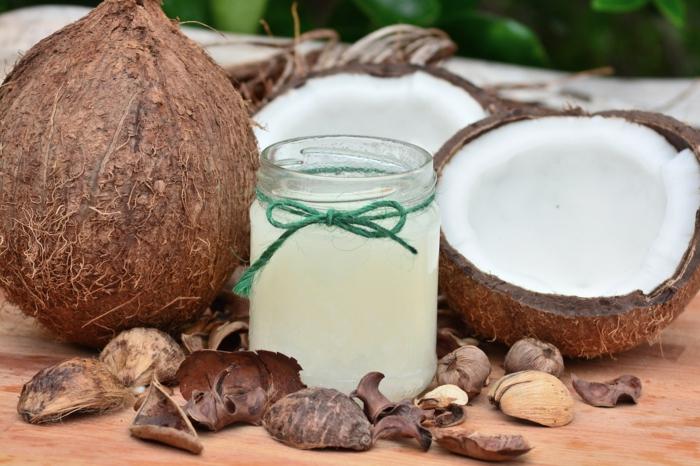 poudre de shikakai et huile de coco recette