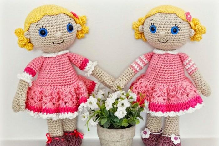 poupée débuter au crochet amigurumi modèle