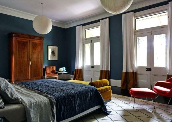 quelle couleur associer au bleu pétrole dans la chambre