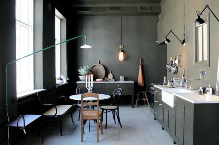 Quelle couleur va avec le kaki les r ponses cette question ternelle - Quelle couleur mettre dans une cuisine ...