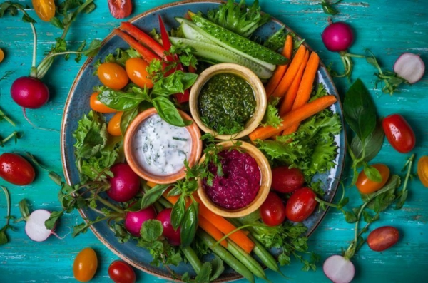 régime crudivore consommation de légumes crus