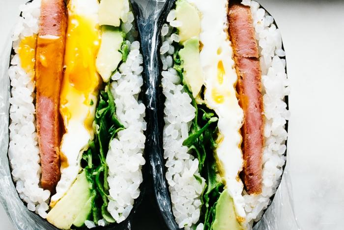 recette de onigirazu