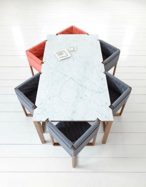 table à manger design insolite