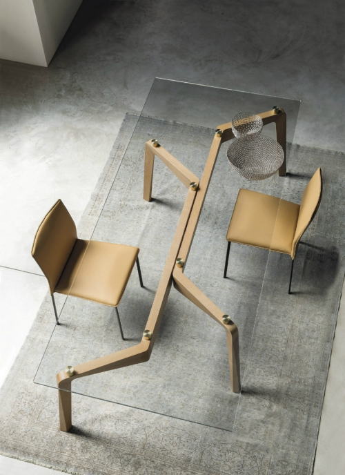table à manger design intéressant