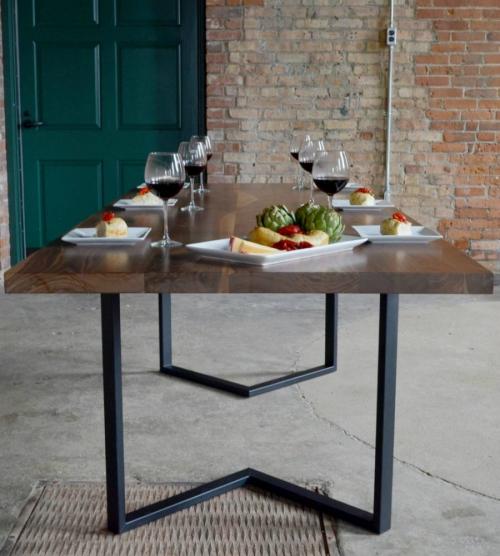 table à manger forme rectangulaire