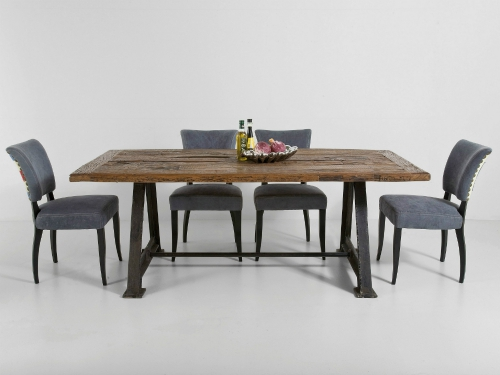 table à manger style vintage