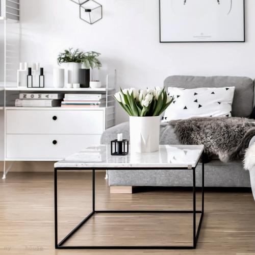 Table Basse En Marbre Tres Classe Pour Votre Salon