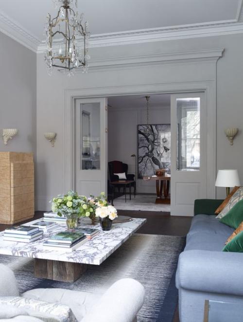 table basse en marbre table