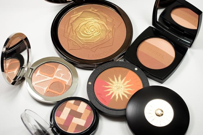 tendance maquillage été - poudre bronzante