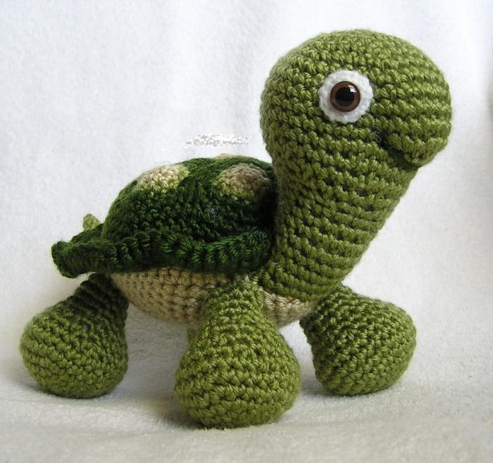 tortue peluche débuter au crochet amigurumi modèle