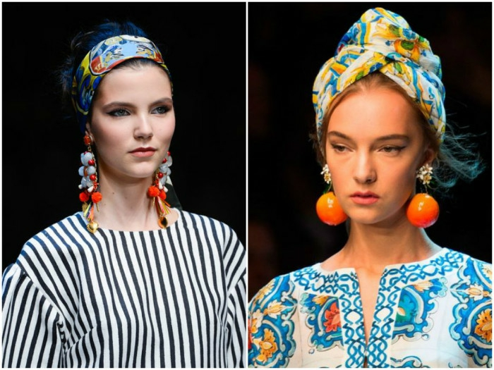 trend nouer foulard cheveux