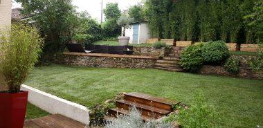 Aménagement jardin en pente douce: comment profiter du ...