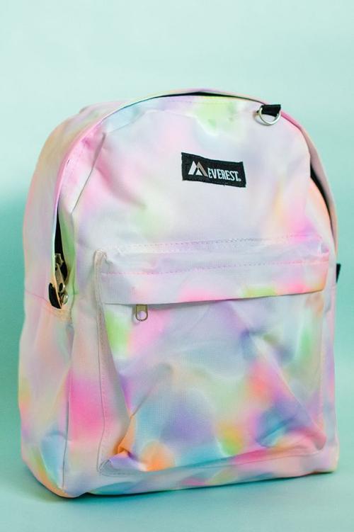 DIY fourniture scolaire un sac en couleurs
