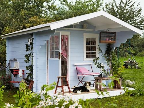 abris jardin cabane habitable