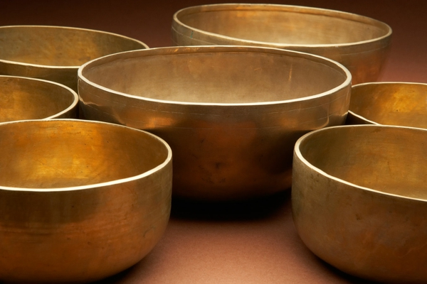 alliage de métaux bol tibétain