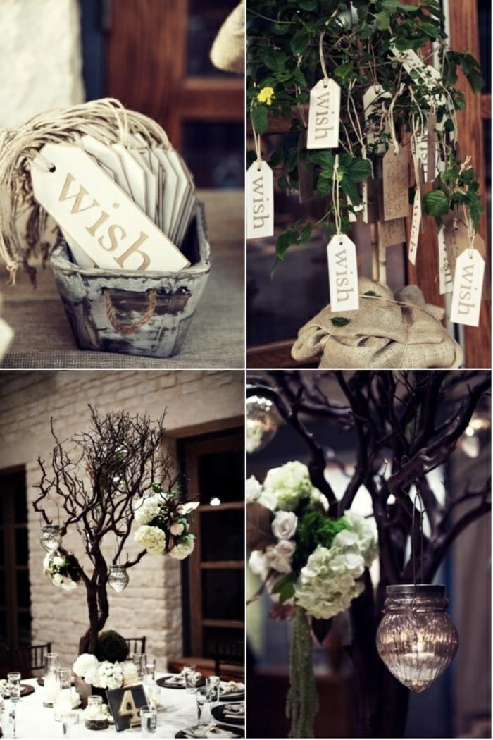 arbre à voeux idée comment décorer