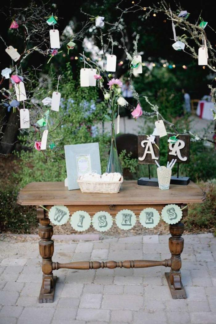 arbre à voeux pour mariage