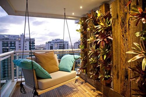 astuce déco balcon appartement moderne