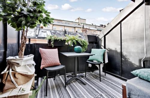 astuce déco balcon terrasse bien sécurisée
