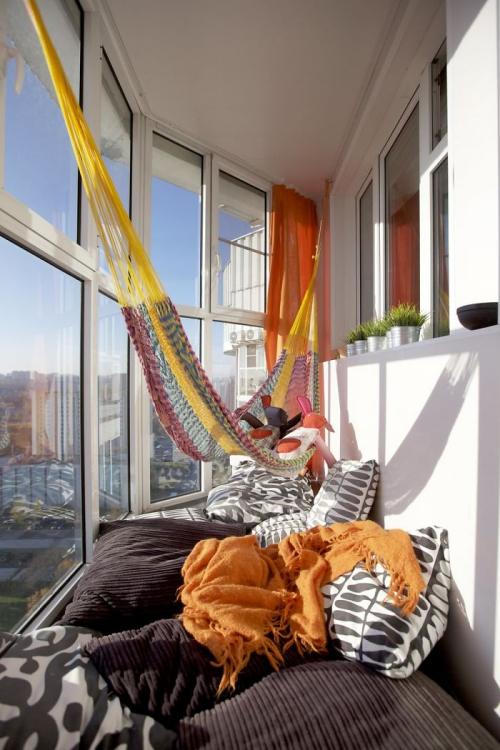 astuce déco balcon un petit bout de terrasse