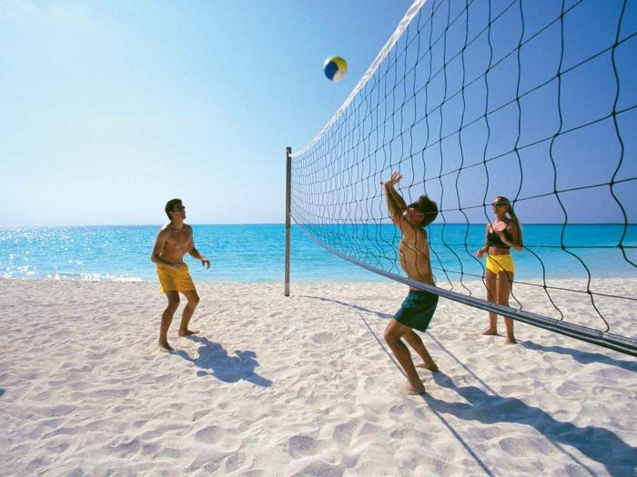 beach-volley quel sport pratiquer en été