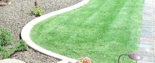 bordures de jardin allée dallée