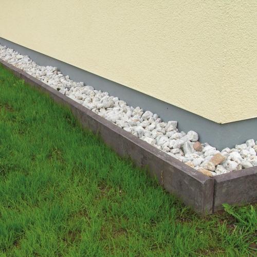 bordures de jardin murs de maison en ceinture