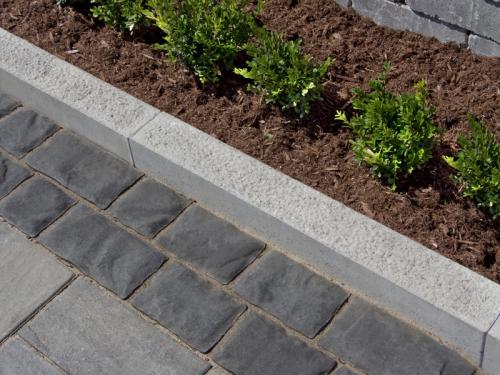 bordures de jardin sol en pavés