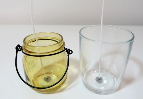 bougie anti-moustique parfumée citronnelle