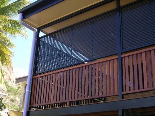 brise-vue balcon design nouvelle maison