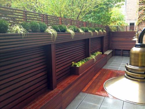 brise-vue balcon design terrasse bien sécurisée
