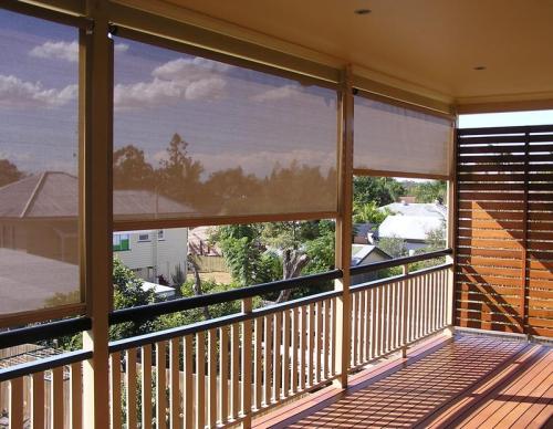 brise-vue balcon design terrasse non aménagée