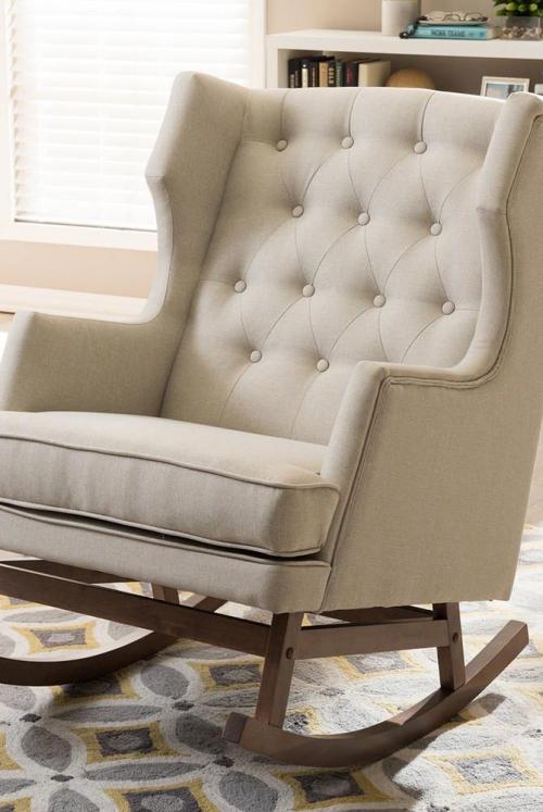 chaise cosy fauteuil à bascule