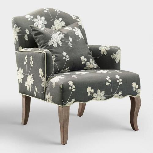 chaise cosy pieds hauts en bois