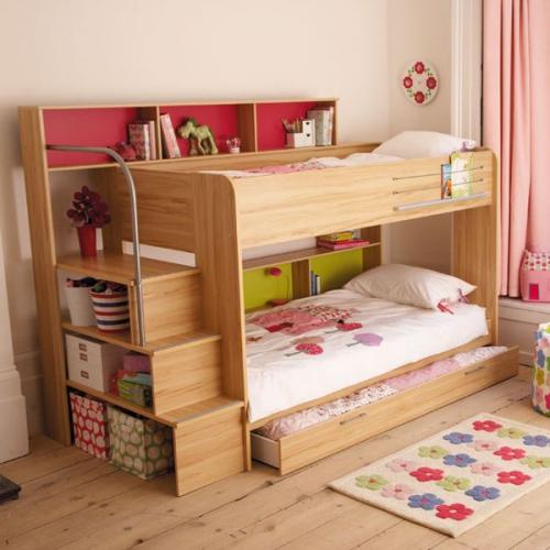 chambre fille ensemble de meubles pour deux filles