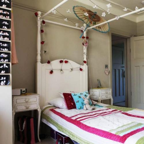 chambre fille meubles vintage