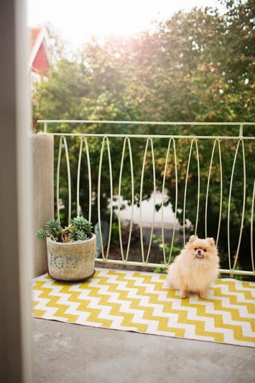 comment aménager un balcon sol bétonné